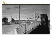 Pittsburgh - Roberto Clemente Bridge Carry-all Pouch by Frank Romeo