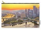 Pittsburgh Sunrise Panorama Carry-all Pouch