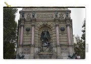 Place Saint-michel Statue And Fountain In Paris France Carry-all Pouch