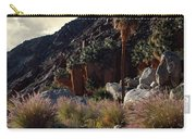 Plants On Landscape, Anza Borrego Carry-all Pouch