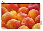 Plums Carry-all Pouch by Elena Elisseeva