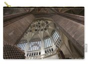 pointed vault of Saint Barbara church Carry-all Pouch