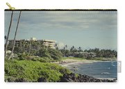 Polo Beach Wailea Point Maui Hawaii Carry-all Pouch
