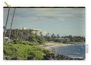 Polo Beach Wailea Point Maui Hawaii Carry-all Pouch
