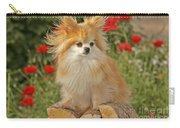 Pomeranian Dog Carry-all Pouch