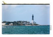 Pompano And The Hillsboro Inlet Lighthouse Carry-all Pouch