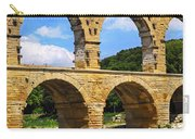Pont Du Gard In Southern France Carry-all Pouch