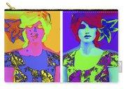 Pop Art Girl Carry-all Pouch