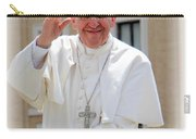 Pope Francis Carry-all Pouch by Diane Greco-Lesser