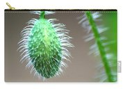 Poppy Bud Carry-all Pouch