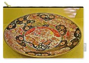 Porcelain Dish In Topkapi Palace In Istanbul-turkey  Carry-all Pouch