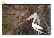 Portrait Of An Australian Pelican Carry-all Pouch