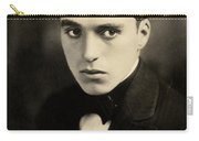Portrait Of Charlie Chaplin Carry-all Pouch