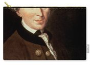 Portrait Of Emmanuel Kant Carry-all Pouch