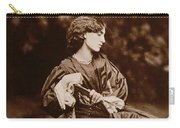 Portrait Of Jane Morris Carry-all Pouch by John Parsons