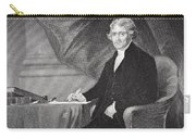 Portrait Of Thomas Jefferson Carry-all Pouch
