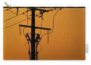 Power Line Sunset Carry-all Pouch
