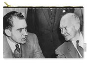 President Eisenhower And Nixon Carry-all Pouch