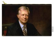 President Jimmy Carter Painting Carry-all Pouch