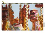 Pretty Carousel Horses Carry-all Pouch