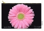 Pretty Pink Gerbera Daisy Carry-all Pouch