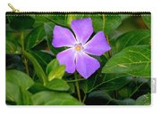Pretty Purple Pinwheel Carry-all Pouch