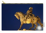 Prince Eugene Of Savoy Statue At Night Carry-all Pouch