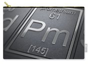 Promethium Chemical Element Carry-all Pouch