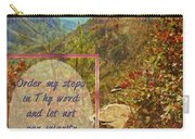Psalm 119 133 Carry-all Pouch