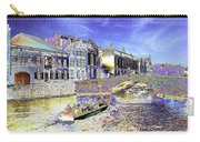Psychedelic Bruges Canal Scene Carry-all Pouch