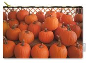 Pumpkins On Pumpkin Patch Carry-all Pouch