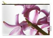 Purple Hyacinth Macro Shot. Carry-all Pouch