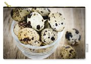 Quail Eggs Carry-all Pouch