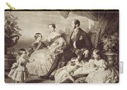 Queen Victoria & Family Carry-all Pouch