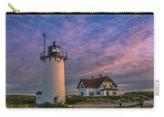Race Point Lighthouse Sunset Carry-all Pouch
