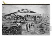 Railroad Accident, 1887 Carry-all Pouch