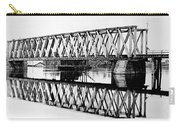 Railroad Bridge Red River Carry-all Pouch