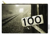 Railway  Carry-all Pouch by Les Cunliffe
