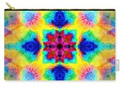 Rainbow Light Mandala Carry-all Pouch