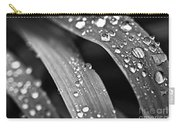 Raindrops On Grass Blades Carry-all Pouch