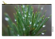 Raindrops On Pine Carry-all Pouch