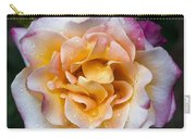 Raindrops On Rose Flower Carry-all Pouch