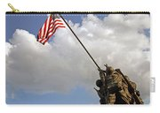 Raising The American Flag Carry-all Pouch