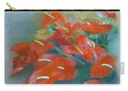 Red Anthurium Carry-all Pouch
