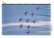Red Arrows Flying In Formation Carry-all Pouch
