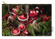 Red Christmas Balls Carry-all Pouch