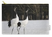 Red-crowned Cranes Courting Carry-all Pouch