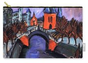 Red Elisabeth Riverbank Berlin Carry-all Pouch