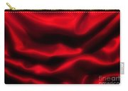 Red Folded Satin Background Carry-all Pouch