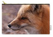 Red Fox In Prospect Park Carry-all Pouch